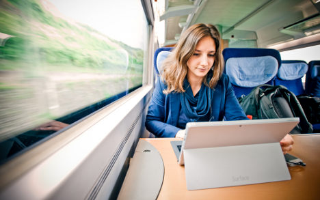 Student gives up flat to live on trains