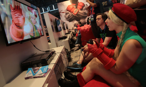 Thousands flock to Cologne's gaming mecca