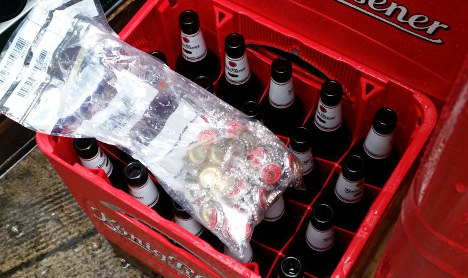 Thieves open 1,000 beers, don't drink any