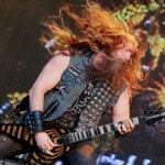 American singer and guitarist Zakk Wylde rocks out on the first day of the festival.Photo: Photo: DPA