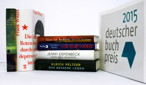 Top German books compete for literary prize