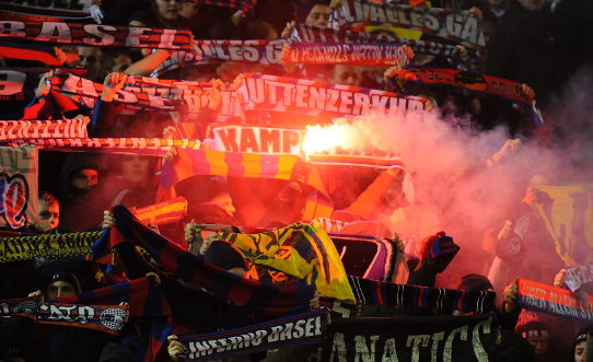 Football fan given 18 months for lighting flare