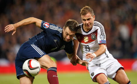 Germany defeat Scotland to close in on Euro spot