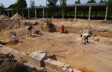 Archaeologists uncover oldest German mosque