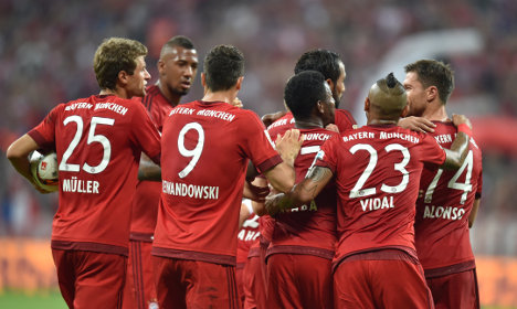 FC Bayern takes refugee kids under its wing