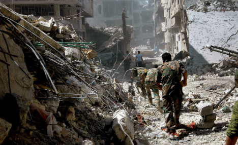 Germany calls for Syria transitional government