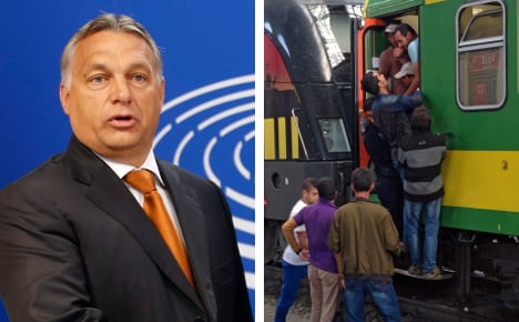 Hungary says refugees are 'German problem'