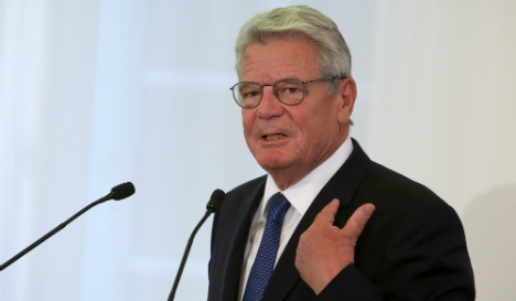 Gauck warns of 'limits to Germany's capacity'