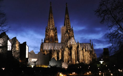 Could you take care of Cologne Cathedral?