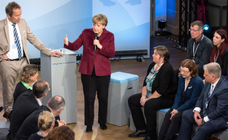 Merkel admits: refugee policy 'far from perfect'