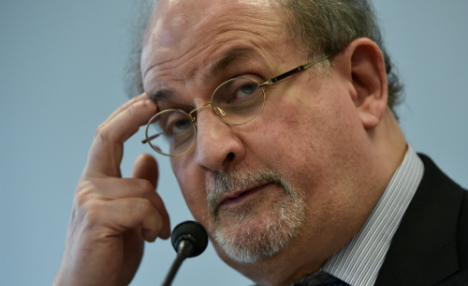Rushdie: 'free speech is a part of human nature'