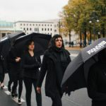Hundreds protest human trafficking in Germany
