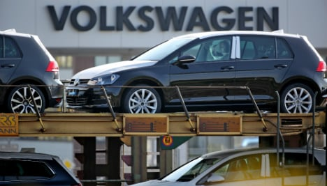 German industry's mood undented by VW scandal
