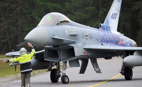 Fault forces Germany to stop Eurofighter orders