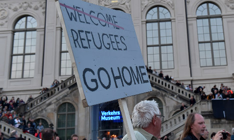 Germany's far-right rises amid refugee wave