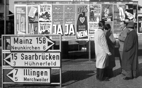 Saarland celebrates 60 years of 'yes' to Germany