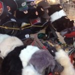 Berlin street traders 'sold hats made of dog fur'