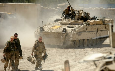 German army 'could join UN Syria mission'