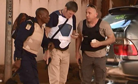 Two Germans caught in Mali hostage drama