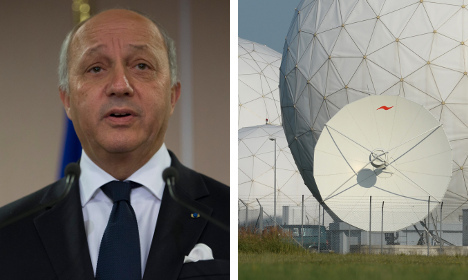 German spies targeted French foreign minister