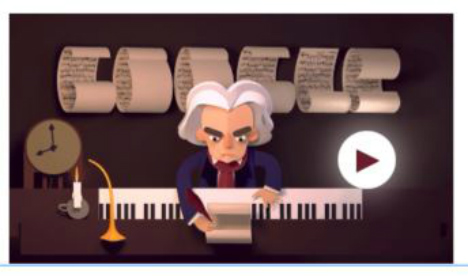 PLAY: Beethoven gets Google birthday game