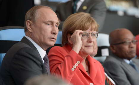 Germany pushes NATO to work with Putin