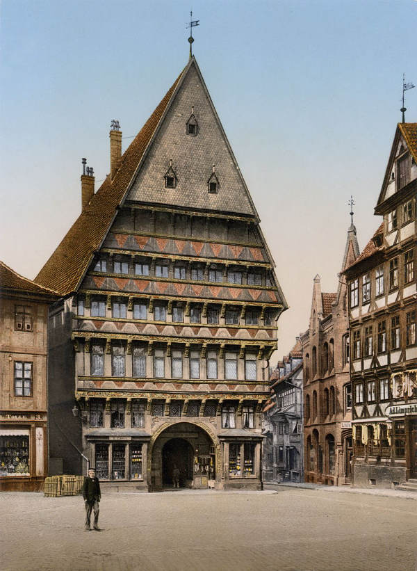 Glorious colour photos of Germany in 1900