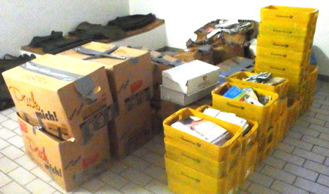 Postman hoarded one tonne of letters at home