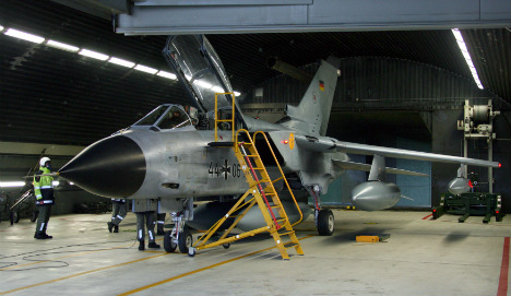 Less than half of German jets ready for action
