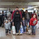 """<b>The refugee crisis - """"We can do this"""".</b> The arrival in Europe of millions of people fleeing war, violence and poverty has been a defining aspect of 2015. With one million asylum seekers, Germany has seen both an outpouring of support from citizens as well as surges in violence against the newcomers. But Merkel has remained <a href=""""http://bit.ly/1ITPeoq"""">confident amid skepticism</a>, maintaining her mantra from the summer of """"Wir schaffen das"""" - we can do this.Photo: DPA"""