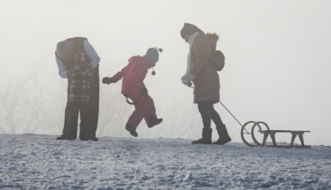 Watch out Germany! Chilly sub-zero weekend ahead