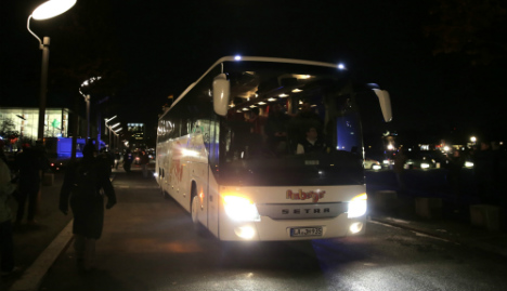 Busload of refugees to be sent straight back to Bavaria