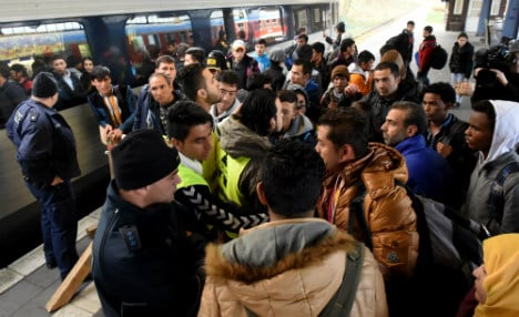 Germany confiscates more from refugees than Denmark