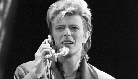 Berlin pays tribute to dearly departed Bowie