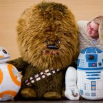 These Star Wars-themed stuffed toys from the company Jazwares can speak.Photo: Photo: DPA