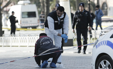 Eight Germans among Istanbul dead: reports