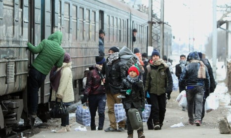 Germany rejects about 10 percent of migrants
