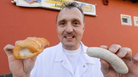 Bavaria goes wild for butcher's twist on fave food