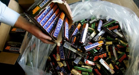 Mars, Snickers and Milky Way recalled across Germany