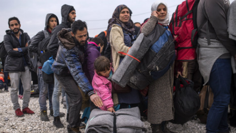 Germany 'could take 3.6m refugees by 2020'