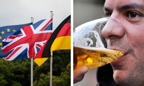 Berlin Brits share fears and beers over Europe vote