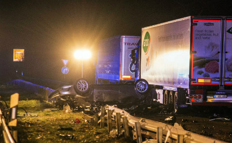 Three dead after police chase in southern Germany
