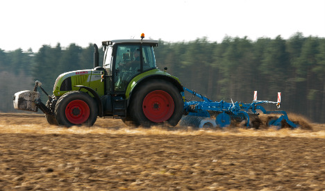 Farmer saved after lying stuck under tractor for 3 days