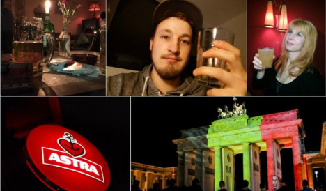 Germans raise a glass to love in anti-Isis message