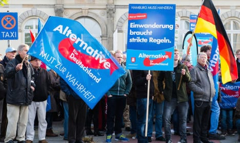 AfD party compares itself to Holocaust victims