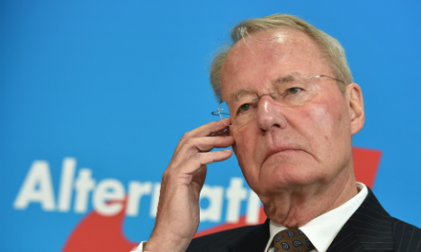 Death threats levelled at AfD 'traitors'