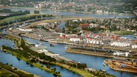 Two killed as ship explodes in western Germany