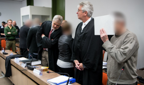 Neo-Nazis in dock over plan to bomb refugees