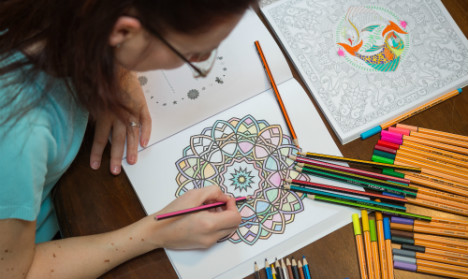 German pencil makers cash in on adult colouring craze