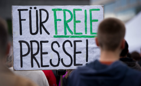 Germany slips four places in press freedom rankings